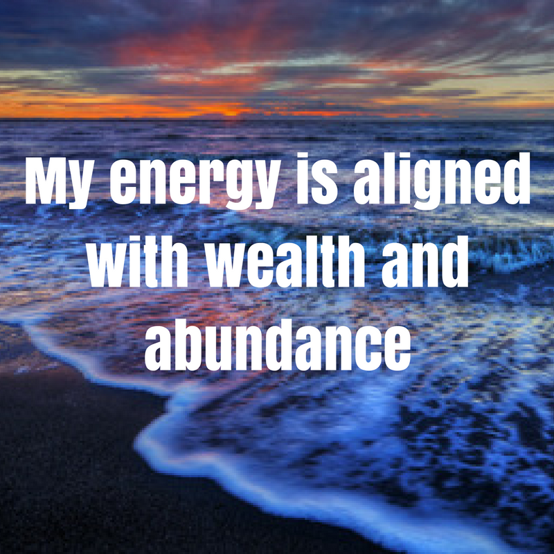 wealth and abundance affirmation