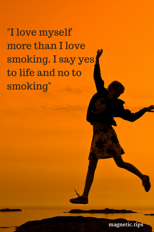stop smoking affirmations