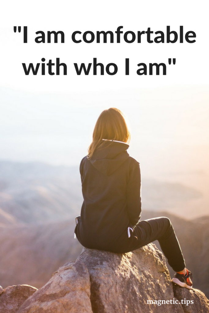 self acceptance affirmations
