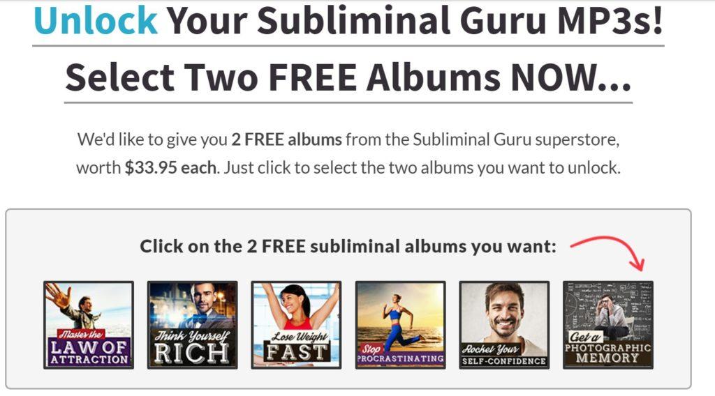 subliminal messages audios